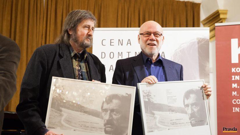 Alexander Balogh (vľavo) a Ján Štrasser