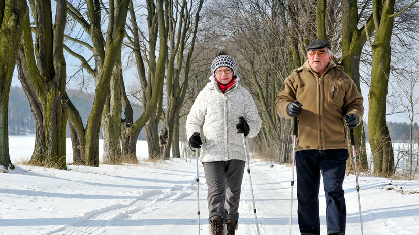 zima, sneh, paličky, mráz, dovolenka, dvojica,...