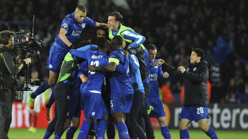 Leicester City, radosť