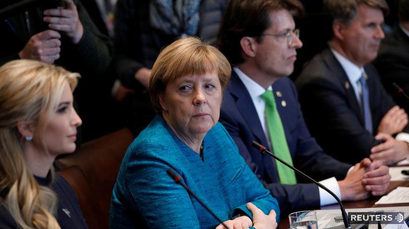 Angela Merkelová, Ivanka Trumpová,