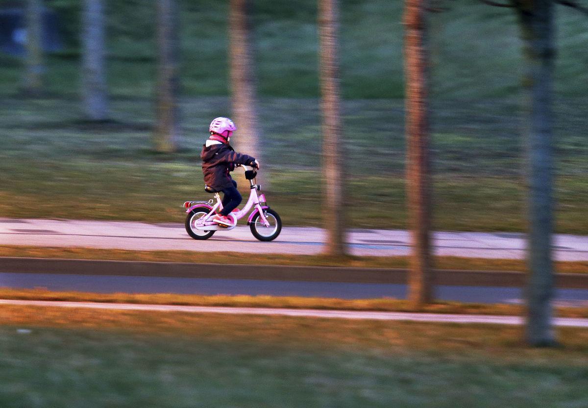 dieťa, bicykel, šport,