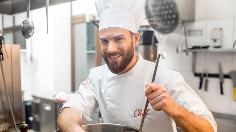 kuchár, robota, práca, zamestanie, varenie