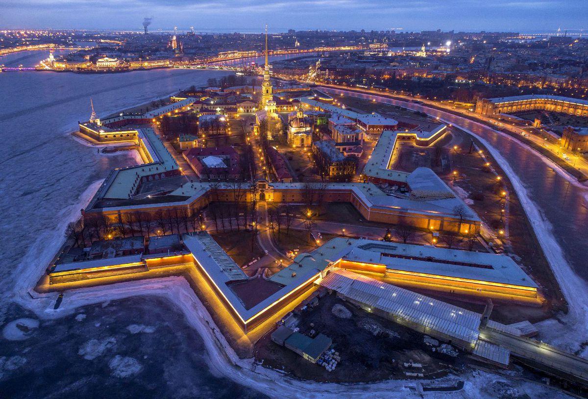 Rusko, Petrohrad, Pevnosť sv. Petra a Pavla
