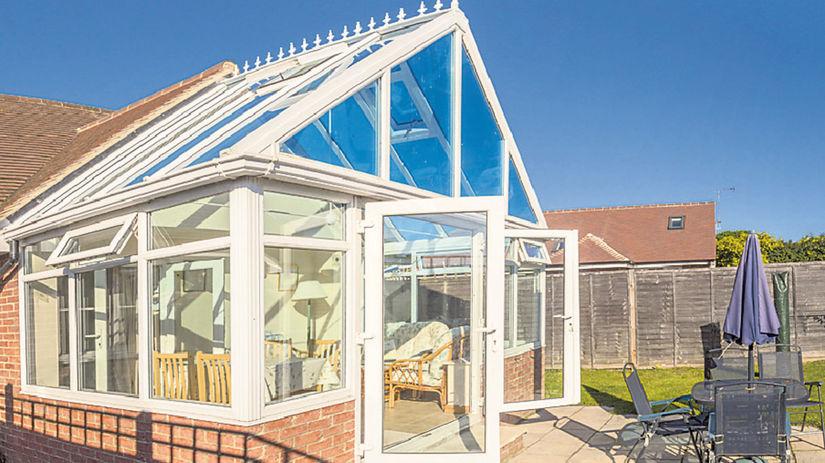 sklenník, zimná záhrada, terasa