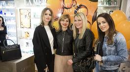 Zuzana Kanisová, moderátorky Soňa Müllerová a Emma Tekelyová a herečka Karin Haydu.