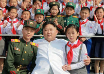 Kim Čong-un, deti, dieťa, KĽDR, vystúpenie