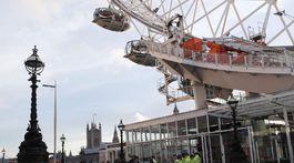 Útok v Londýne, londýn, london eye, polícia,