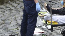 Útok v Londýne, nehoda, zranenie,