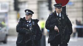 Útok v Londýne, polícia, londýn,