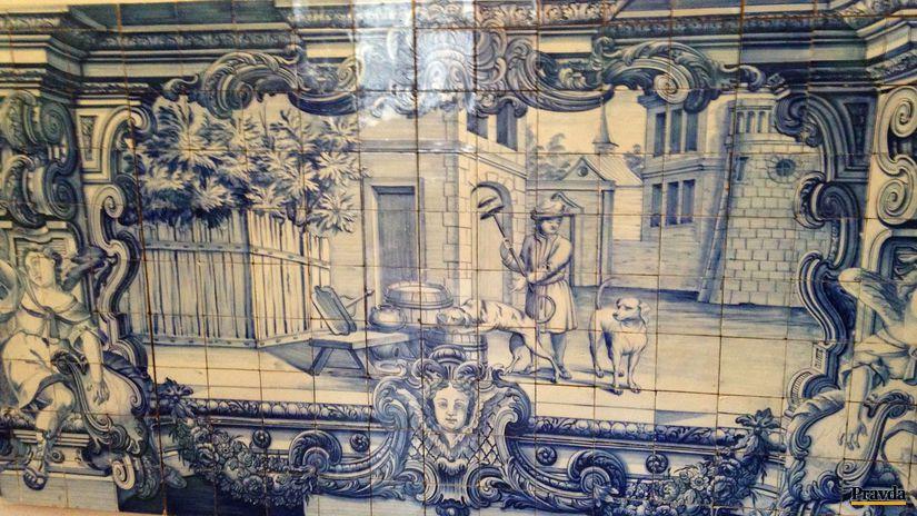 Lisabon, kachlička