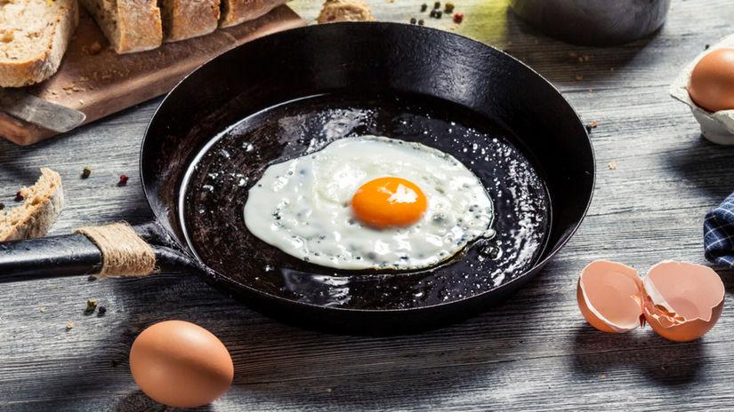 volské oko, vajíčka