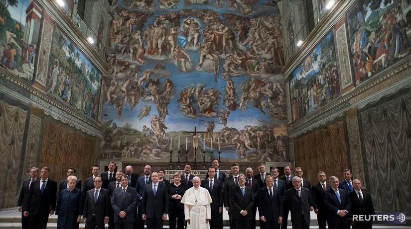 summit, pápež, eu, rím