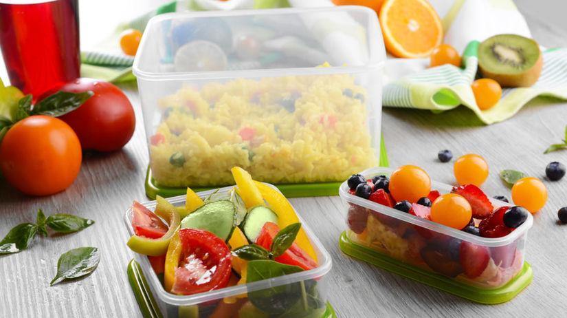 jedlo, kuchyňa, plast, dóza