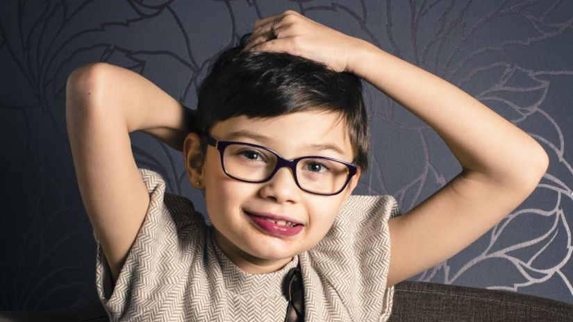 dieťa, chlapec, okuliare