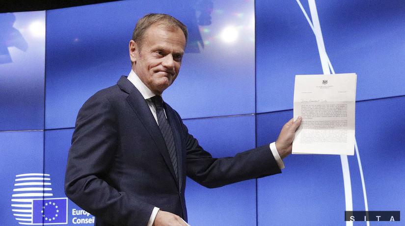 Donald Tusk, brexit, list o brexite,