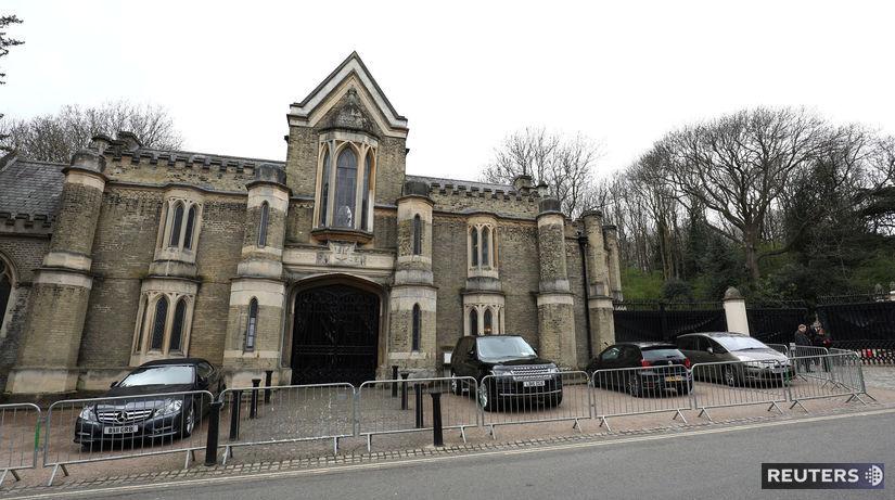 Highgate Cemetery, Londýn, pohreb Georga...