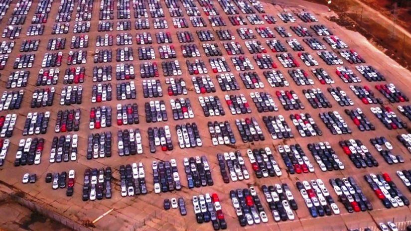 Dieselgate - odstavené autá v USA