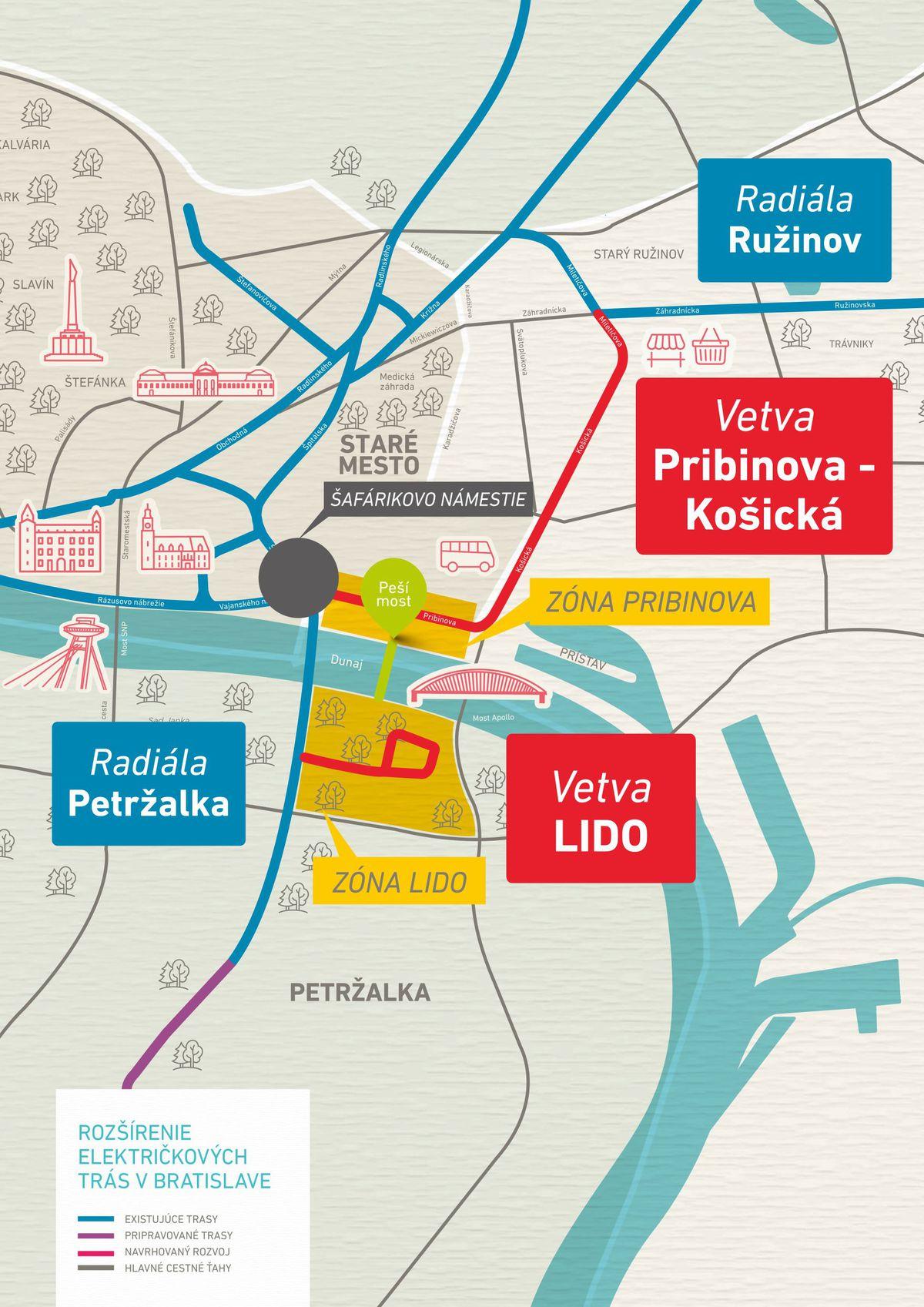 J T Navrhuje V Bratislave Novu Elektrickovu Trat Reaguje Tak Na