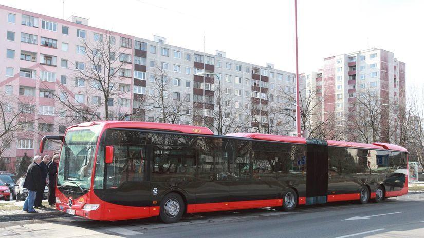 MHD,autobus, bratislava,