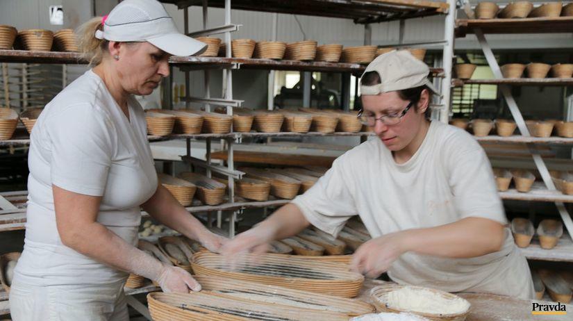 pekárky, chlieb