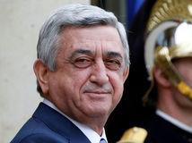 Serž Sarkisjan, Francois Hollande
