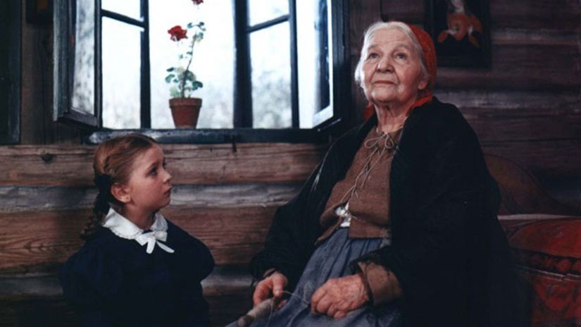 Babička Jarmila Kurandová