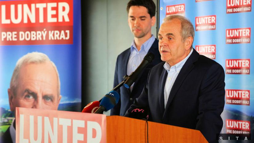 Ján Lunter, župné voľby,