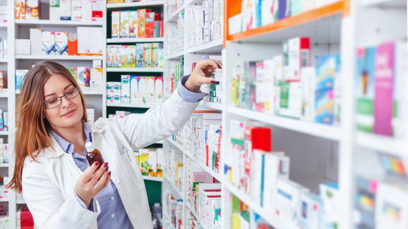 lieky, lekáren, doktorka