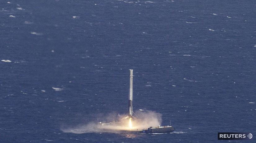 spacex, raketa, družica