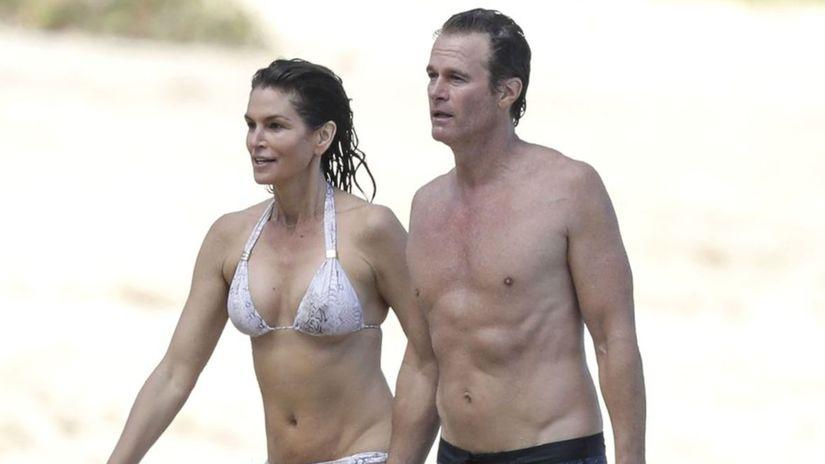 Cindy Crawford a jej manžel Rande Gerber