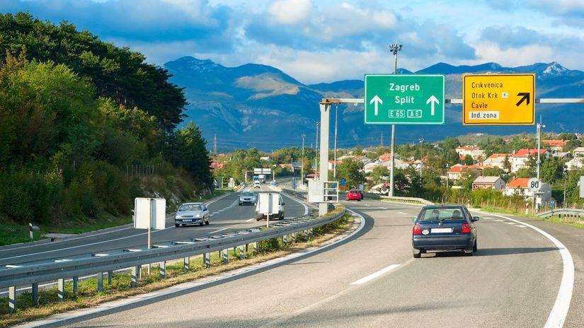 Chorvátsko, diaľnica