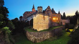 Frýdlant, hrad a zámok,