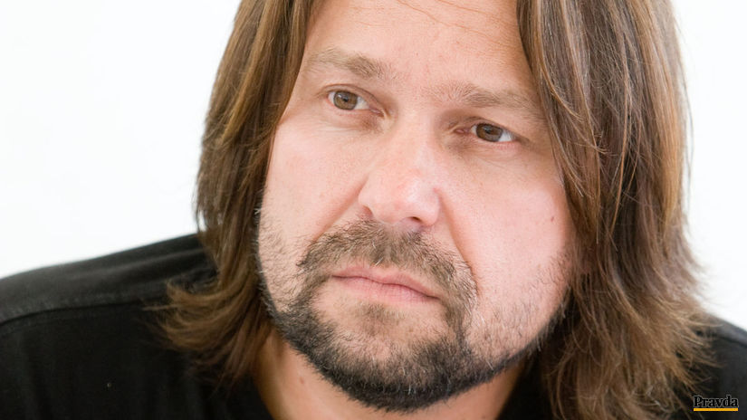 Herec a producent Jiří Pomeje na archívnom zábere.