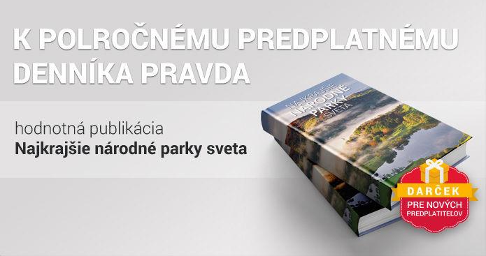 Polročné predplatné s knihou o národných parkoch