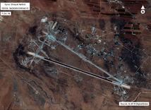 syria, homs, letisko