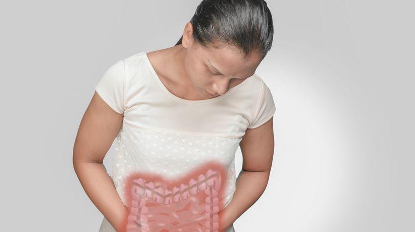 hrubé črevo, bolesť, brucho, rakovina