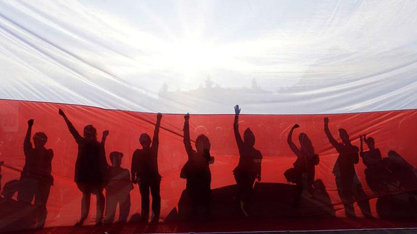 Poľsko, vlajka, zástava, výročie ústavy