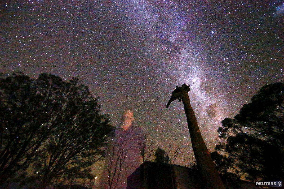 tma, noc, hviezdy, nebo