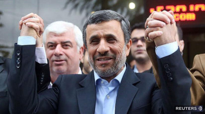 Mahmúd Ahmadinežád, Irán