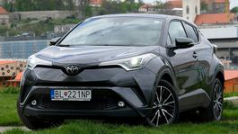 Toyota C-HR 1,2 Turbo - test