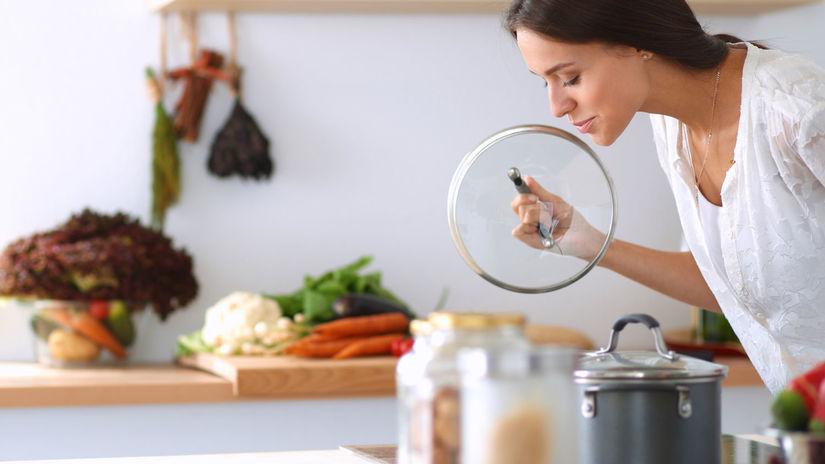 jedlo, potraviny, varenie, zena, kuchyna