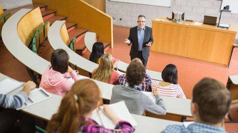 vysokoškoláci, prednáška