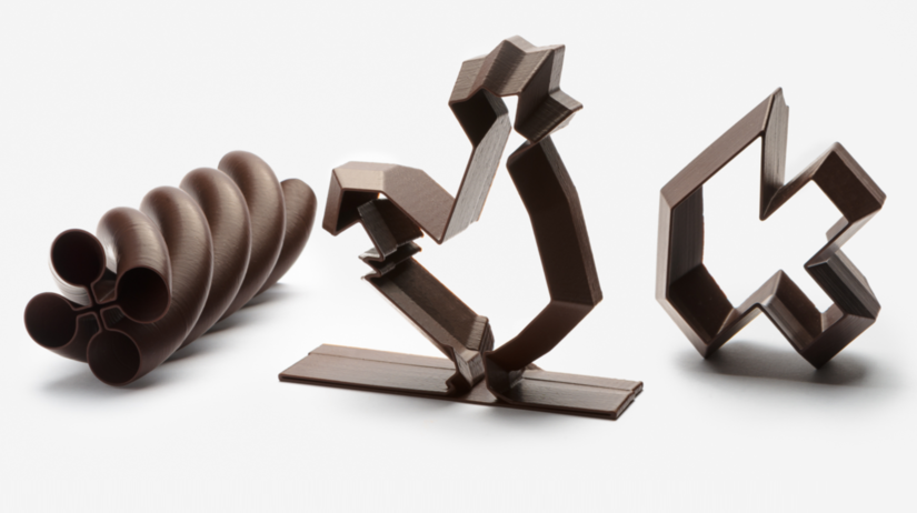 La Miam Factory, belgická čokoláda, 3D tlač, 3D