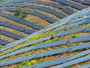 Čína, solárne panely