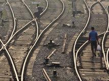 India, koľajnice, vlaky, koľaje