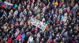 protikorupčný pochod, demonštrácia, protest, námestie snp,