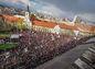 Protikorupčný pochod v Bratislave.
