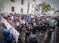Protikorupčný pochod v uliciach Bratislavy.