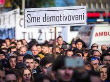 protikorupčný pochod, protest, demonštrácia,