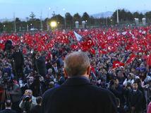 Recep Tayyip Erdogan, ankara, turecko, prejav